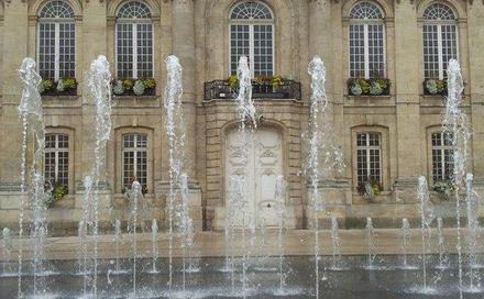 Place De L H Tel De Ville Beauvais Miroir D Eau Mon
